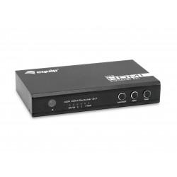 Equip - 332725 interruptor de video HDMI