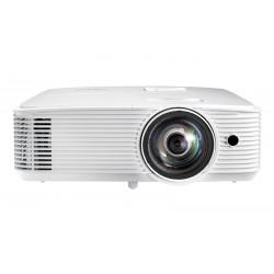 Optoma - W319ST videoproyector Proyector para escritorio 4000 lúmenes ANSI DLP WXGA (1280x768) 3D Blanco