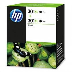 HP - 301XL Original Negro 2 pieza(s)