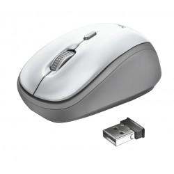 Trust - Yvi ratón Ambidextro RF inalámbrico Óptico 1600 DPI - 23386