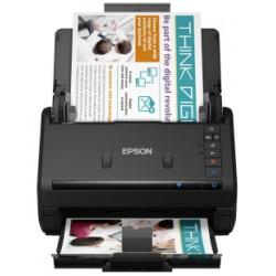 Epson - WorkForce ES-500WII Escáner alimentado con hojas 600 x 600 DPI A6 Negro