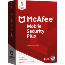 McAfee - Mobile Security Plus Español Licencia completa 1 licencia(s) 1 año(s)