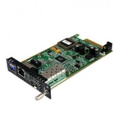 StarTech.com - Módulo Conversor de Medios Gigabit Ethernet UTP RJ45 a Fibra con una Ranura SFP Disponible para ETCHS2U