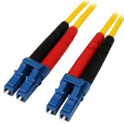 StarTech.com - Cable de Red de 10m Monomodo Dúplex Fibra Óptica LC-LC 9/125