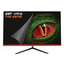 """KeepOut - XGM27QHD+ pantalla para PC 68,6 cm (27"""") 2560 x 1440 Pixeles 2K Ultra HD LED Negro, Rojo"""