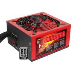 Mars Gaming - MPVU750 unidad de fuente de alimentación 750 W 20+4 pin ATX ATX Negro, Rojo