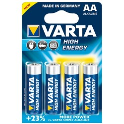 Varta - 4x AA Batería de un solo uso Alcalino