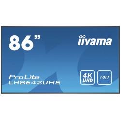 "iiyama - Prolite LH8642UHS-B1 2,17 m (85.6"") IPS 4K Ultra HD Procesador incorporado Android 8.0"