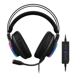 Gigabyte - AORUS H1 auricular y casco Auriculares Diadema USB tipo A Negro