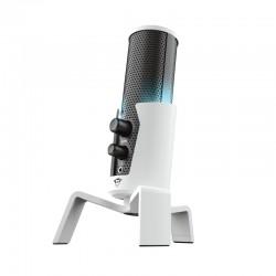 Trust - GXT 258W Fyru USB 4-in-1 Streaming Negro, Blanco