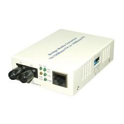 MCL - Transceiver 10/100 Base-TX (RJ45) / 100 Base-FX ST Multimode convertidor de medio 100 Mbit/s