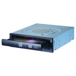 Lite-On - IHAS124 Interno DVD Super Multi DL Negro unidad de disco óptico