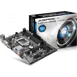 Asrock - H81M-DGS R2.0 Intel H81 Socket H3 (LGA 1150) Micro ATX placa base