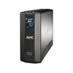APC - Back-UPS Pro sistema de alimentación ininterrumpida (UPS) Línea interactiva 550 VA 330 W 6 salidas AC