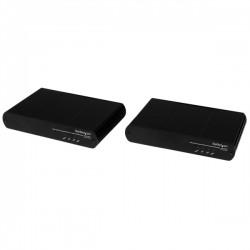 StarTech.com - Extensor de Consola KVM DVI USB por Cable Cat5e / Cat6 con Vídeo 1080p HD Sin Comprimir - 100m
