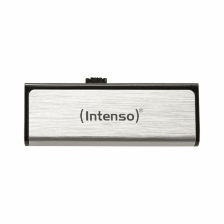 Intenso - Mobile Line, 16GB 16GB USB 2.0 Capacity Plata unidad flash USB