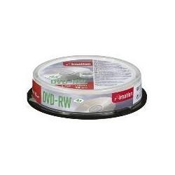 Imation - DVD-RW 4x 4.7GB (10) 4.7GB DVD-RW 10pieza(s)