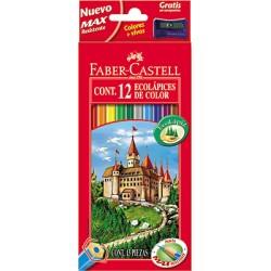 Faber-Castell - 120112 laápiz de color 12 pieza(s) Multicolor