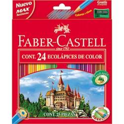 Faber-Castell - 120124 juego de pluma y lápiz de regalo Caja de cartón