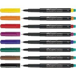 Faber-Castell - Multimark marcador permanente Negro 1 pieza(s)