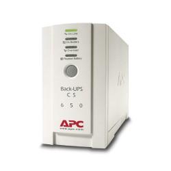 APC - Back-UPS sistema de alimentación ininterrumpida (UPS) En espera (Fuera de línea) o Standby (Offline) 650 VA 400 W 4 salida