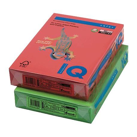 IQ - Papel multifunción color 500h 80g A4 Azul