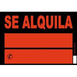 Archivo 2000 - ARC CARTEL PLAST 50X70 SE ALQUILA85070AL