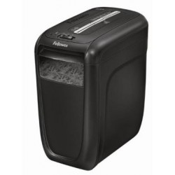 Fellowes - 60Cs triturador de papel Cross shredding 23 cm 72 dB Negro