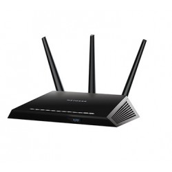 Netgear - R7000 router inalámbrico Doble banda (2,4 GHz / 5 GHz) Gigabit Ethernet Negro