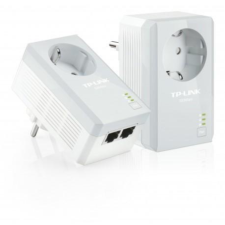 TP-LINK - TL-PA4020PKIT Ethernet Color blanco 2pieza(s) adaptador de red powerline