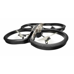 Parrot - AR.Drone 2.0 Elite Edition 4rotors 1280 x 720Pixeles 1000mAh Negro, Caqui dron con cámara