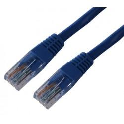 MCL - FCC5EM-0 5M/B cable de red 0,5 m Azul