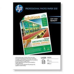 HP - Papel fotográfico láser brillante profesional de 200 g/m²- 100 hojas/210 x 297 mm