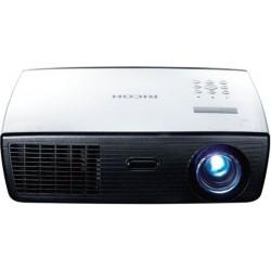Ricoh - PJ WX2130 videoproyector 2800 lúmenes ANSI DLP WXGA (1280x800) Proyector para escritorio Negro, Blanco