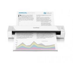 Brother - DS-720D escaner 600 x 600 DPI Escáner alimentado con hojas Blanco A4