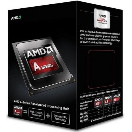 AMD - A series A6-6420K Black Edition 4GHz 1MB L2 Caja procesador