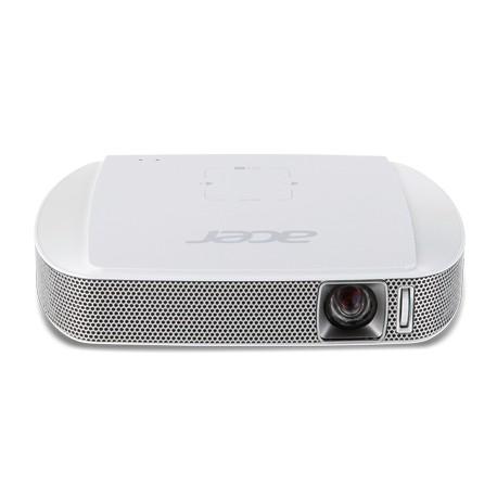Acer - Travel C205 Proyector portátil 150lúmenes ANSI DLP WVGA (854x480) Color blanco videoproyector