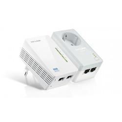 TP-LINK - AV500 500Mbit/s Ethernet Wifi Blanco 2pieza(s) adaptador de red powerline