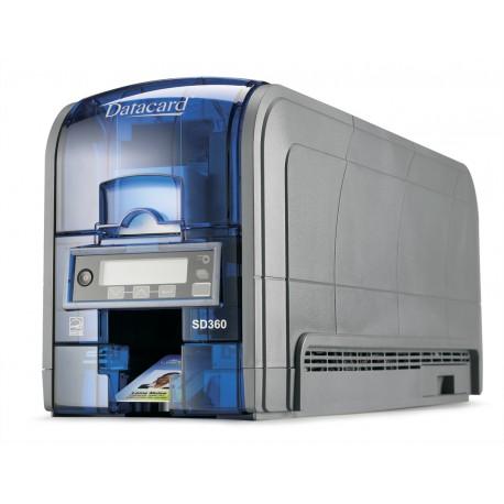 DataCard - SD360 Pintar por sublimación Color 300 x 300DPI impresora de tarjeta plástica