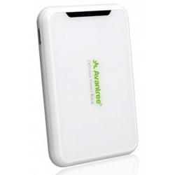 Avantree - SPPW-600-WHT Polímero de litio 6000mAh Blanco batería externa