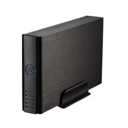 """TooQ - CAJA HDD 3,5"""" IDE/SATA A USB 2.0 NEGRA"""