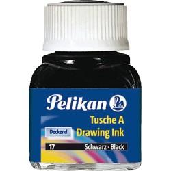 Pelikan - Tusche A 3 zinnober tinta de impresión y de dibujo