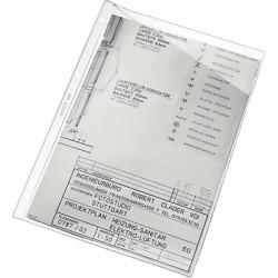 Esselte - ESD C.100 FUNDAS PARA MAPA PVC 25320