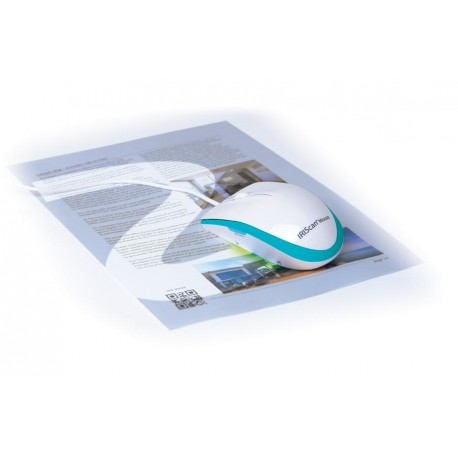 I.R.I.S. - IRISCan Mouse Executive 2 Mouse scanner 300 x 300DPI A3 Azul, Color blanco