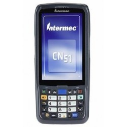 "Intermec - CN51 ordenador móvil industrial 10,2 cm (4"") 480 x 800 Pixeles Pantalla táctil 350 g Negro - CN51AN1KCU2W1000"