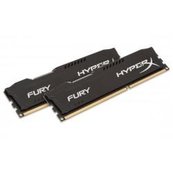 HyperX - FURY Black 16GB 1600MHz DDR3 16GB DDR3 1600MHz módulo de memoria