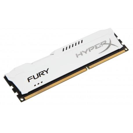 HyperX - FURY White 8GB 1866MHz DDR3 8GB DDR3 1866MHz módulo de memoria