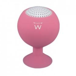 Ewent - eStand 2 W Mono portable speaker Rosa