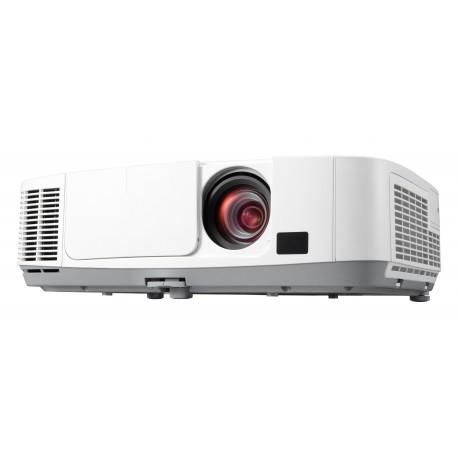 NEC - P401W Proyector para escritorio 3300lúmenes ANSI 3LCD WXGA (1280x800) Color blanco videoproyector