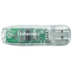 Intenso - Rainbow Line 32GB 32GB USB 2.0 Tipo A Transparente unidad flash USB